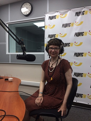 Наше интервью на Радиус FM